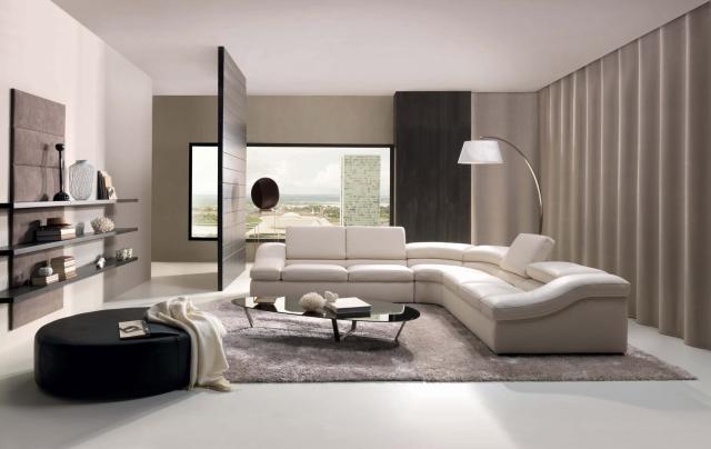 Màu be - phù hợp với phòng khách hiện đại và ấn cúng.