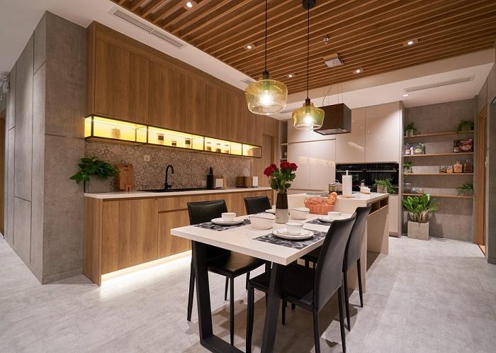Xu hướng sử dụng màu sắc trong thiết kế nhà bếp