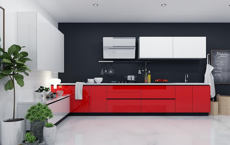 Thi công Tủ bếp tại các chung cư như q1,2,3
