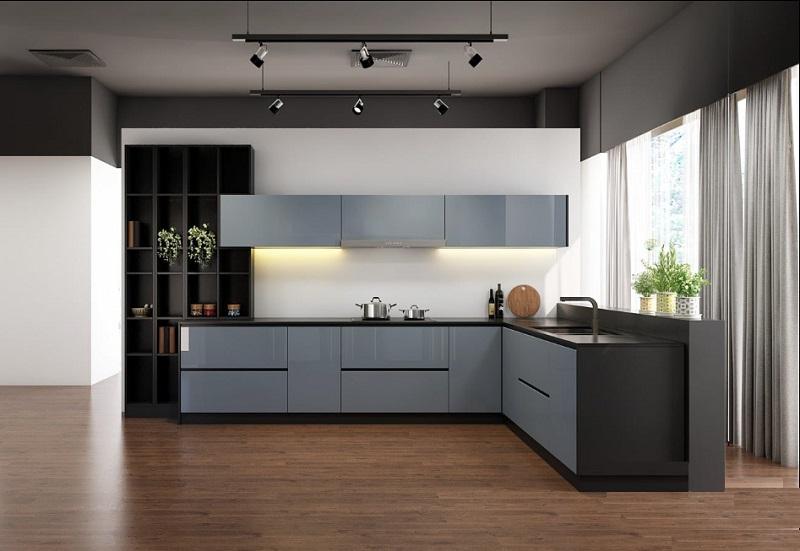 Cách chọn kích thước tủ bếp phù hợp với không gian diện tích