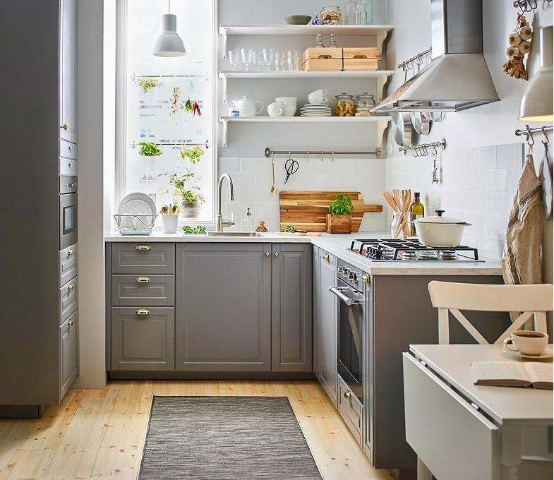 Tư vấn các dòng vật liệu tốt để làm Tủ bếp Tân cổ điển