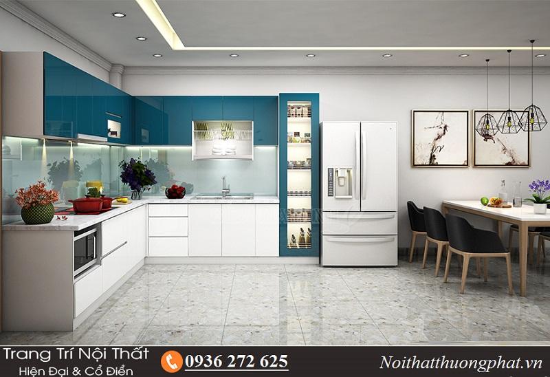 Tiêu chuẩn thiết kế tủ bếp