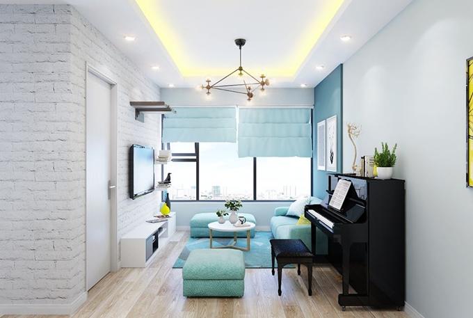 Thiết kế nội thất căn hộ chung cư đẹp - lạ