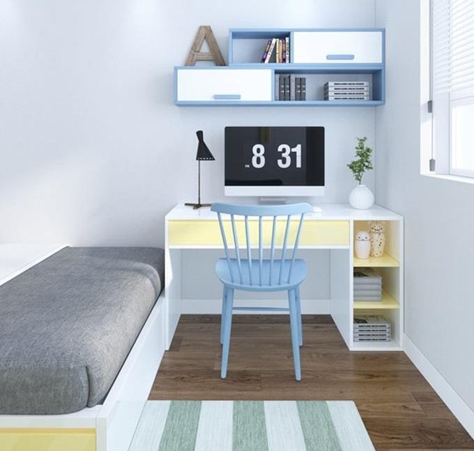 Cách phối màu tinh tế và độc đáo trong các thiết kế nội thất phòng ngủ với nhiều gam màu sinh động