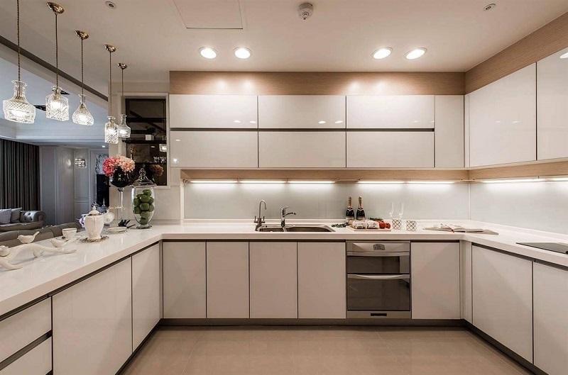 Bộ sưu tập Tủ kệ bếp chữ U đẹp, hiện đại cho mọi không gian nội thất